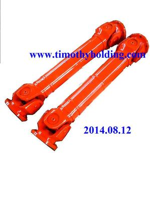 Cardan joint shafts